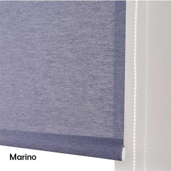 Estor enrollable Buenos Aires Marino - Zebra Textil |Estores 10