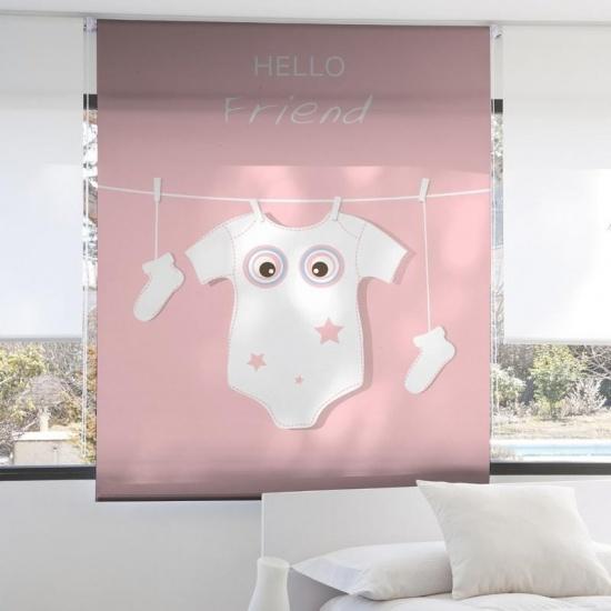 Estor Infantil 2099 - Zebra Textil
