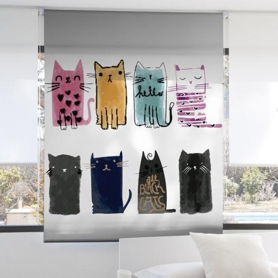 Estor Cats 233 Zebra Textil
