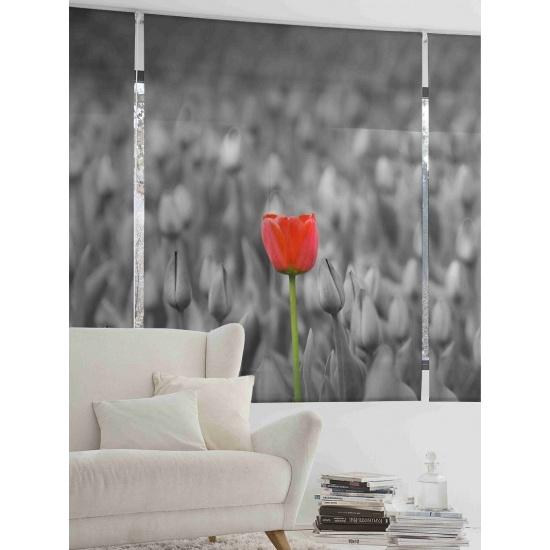 Estor Floral 1508 Tulipán - ZEBRA TEXTIL