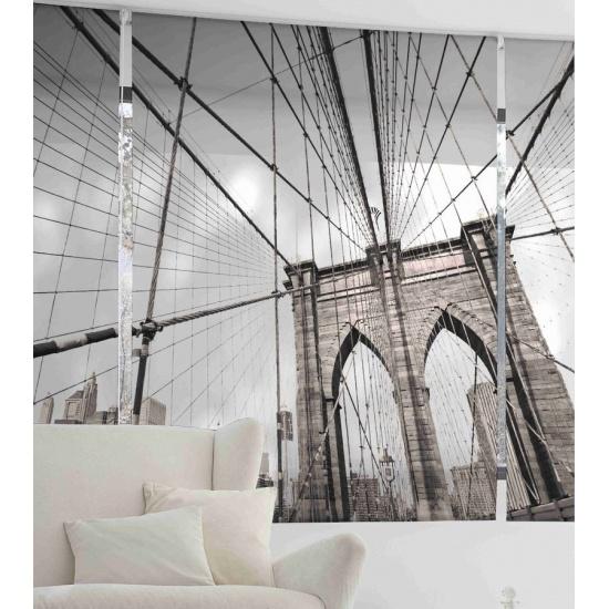 Estor digital Puente de Brooklyn 553 Zebra Textil